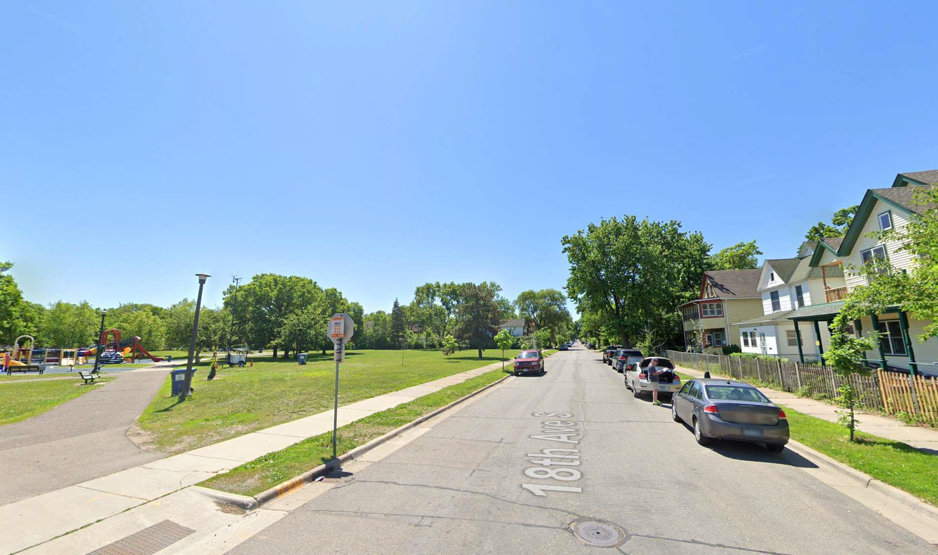 street view of very low opportunity neighborhood in Minneapolis, MN
