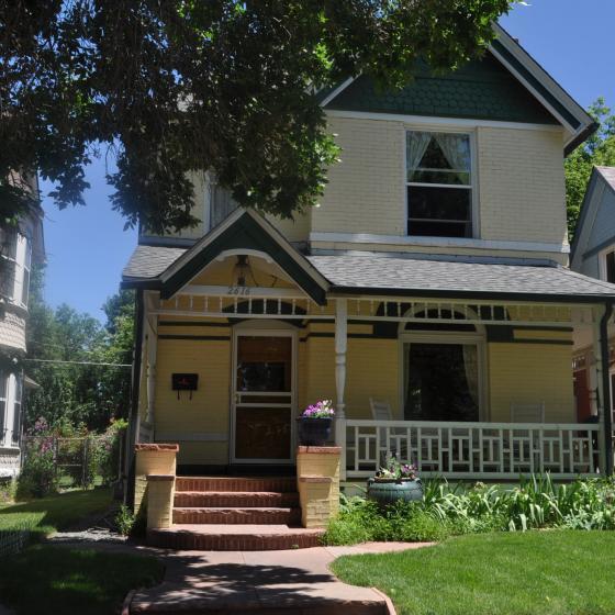 House in Whittier neighborhood of Denver_photo credit Whittier Neighborhood Association